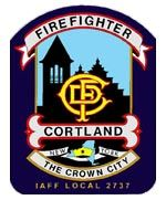 Cortland Fire Department Patch